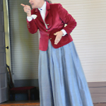 Every year the parents and teachers at Covenant School in Dallas, Texas work hard to provide a living history day with the students. In 2012 the focus was on U.S. Westward Expansion in the 1800's.