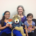 We meet Aratzy and her sister, Estefania, and their puppets.