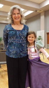 Here I am with Kathryn Madigan, one of the amazing storytellers we met in Nacogdoches.